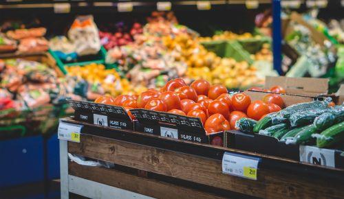 grocery store supermarket vegetable