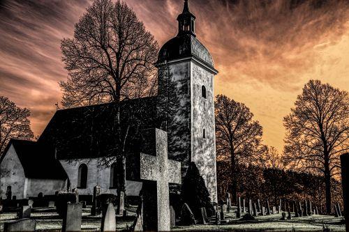 grödinge church cemetery