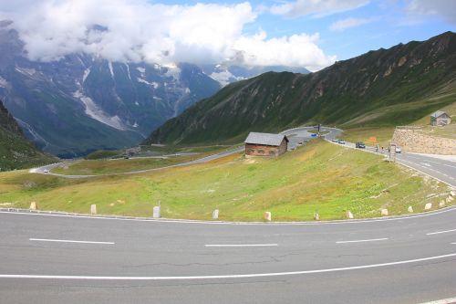 grossglockner mountains landscape