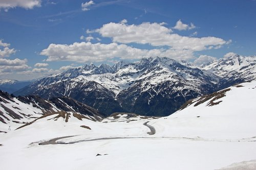 grossglockner high alpine road  alpine  austria