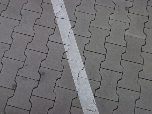 ground parking lines