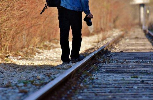 ground rail  shut down  photograph