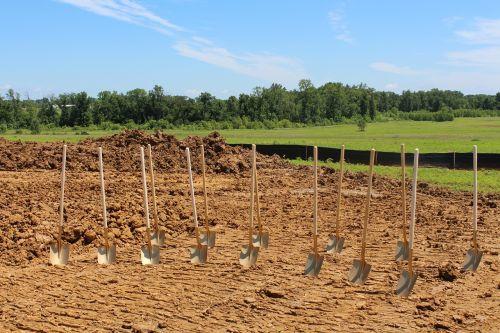groundbreaking shovel ceremony