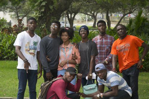 group people teens