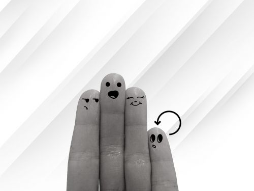 group fingers hand
