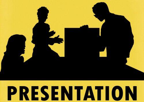 Group Business Presentation Sign