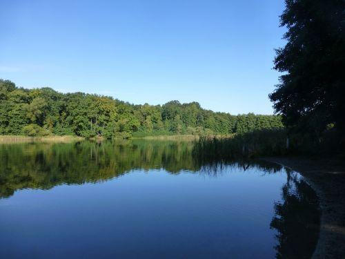 grunewald lake nature
