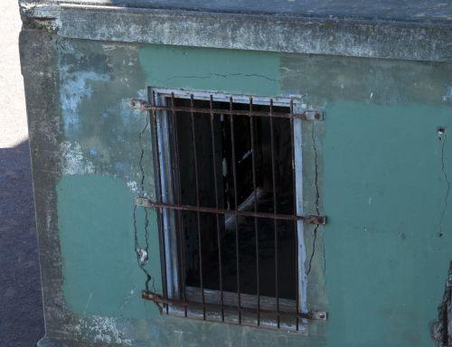Grunge Barred Window