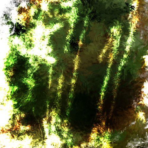 Grunge Green Texture