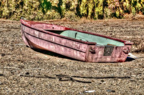 Grunge Rowboat