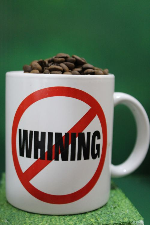 GS.Cup Of Coffee Beans: No Whining