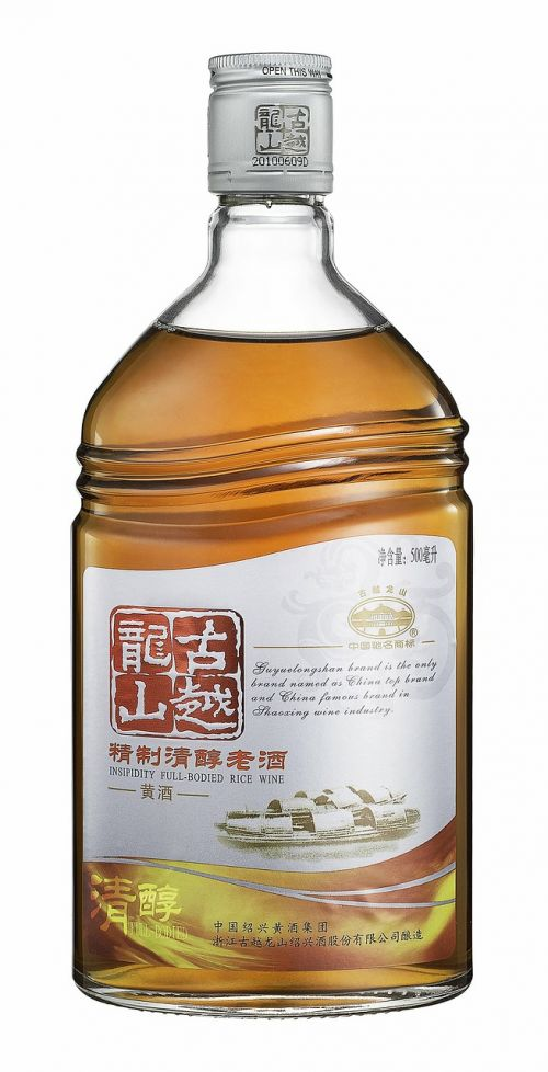 gu yue long shan shot drinks bottle