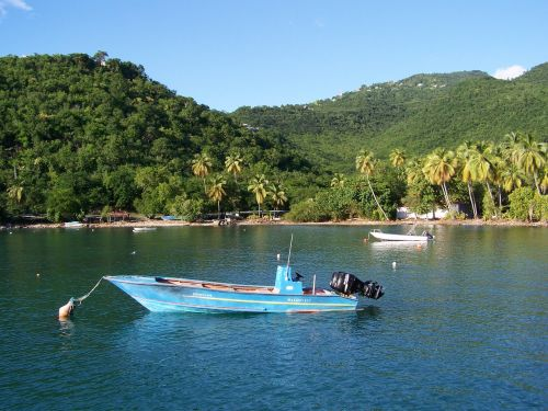 guadeloupe boiling cove boat