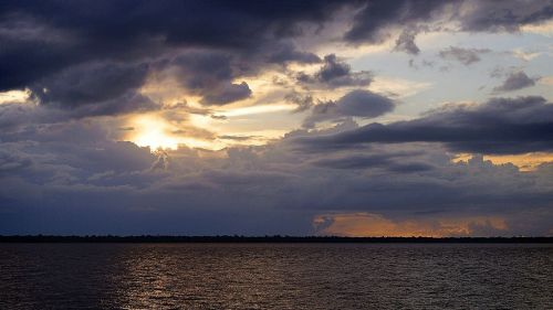 guajará bay bethlehem sunset