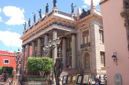 guanajuato mexico juarez theater