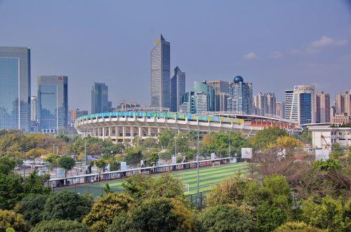 guangzhou modern china urban