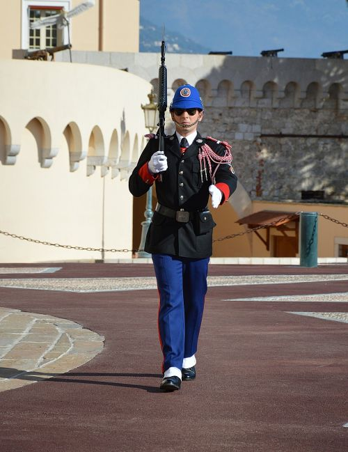 guard changing of the guard monaco