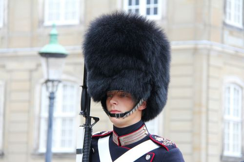 guard uniform man