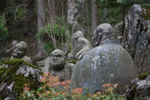 guardian deity of children  temple  japan