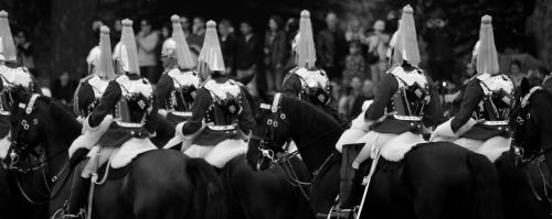 Guards On Horses