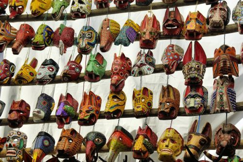 guatemala market masks