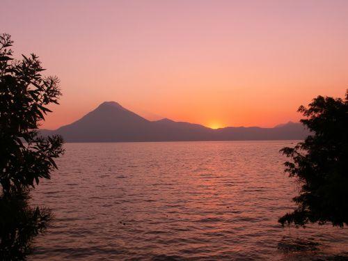 guatemala sunset travel