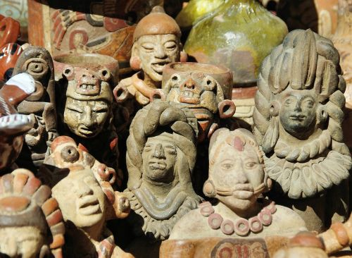 guatemala market figurines