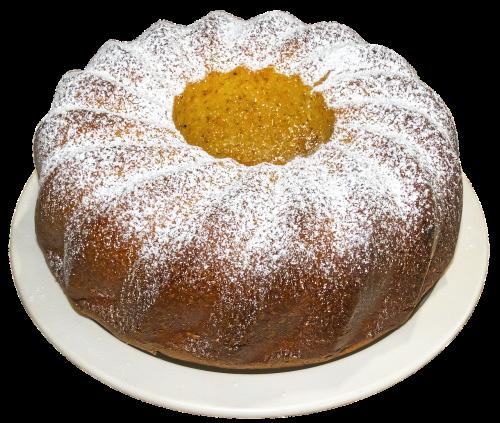 gugelhupf cake baked