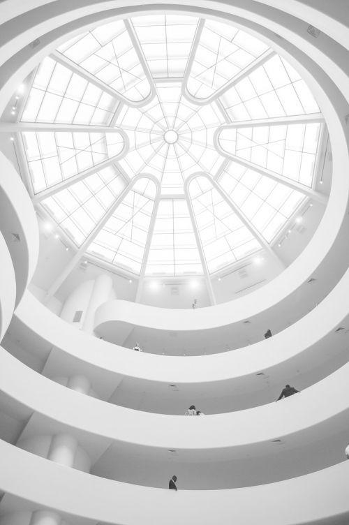 guggenheim museum ceiling dome
