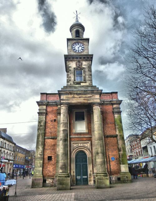 Guildhall Newcastle Under Lyme HDR