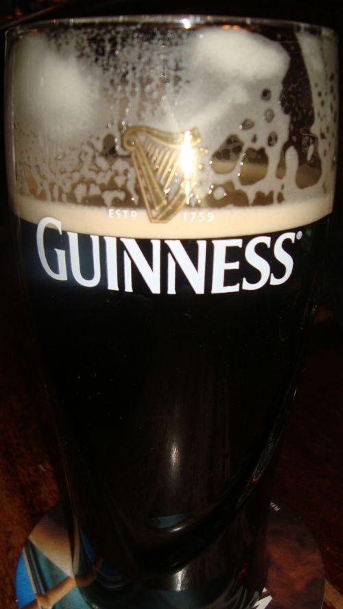 guinness pint beer