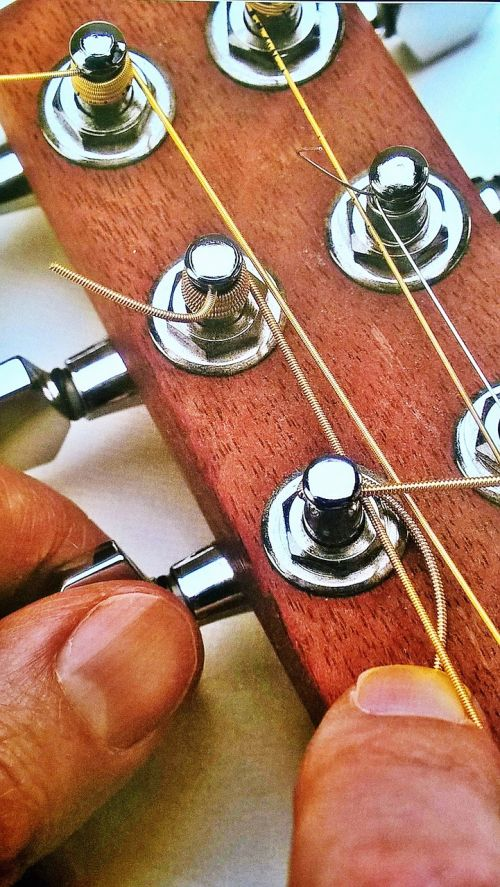 guitar strings voices