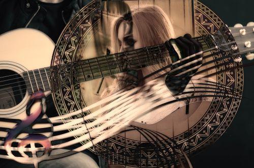 guitar music woman