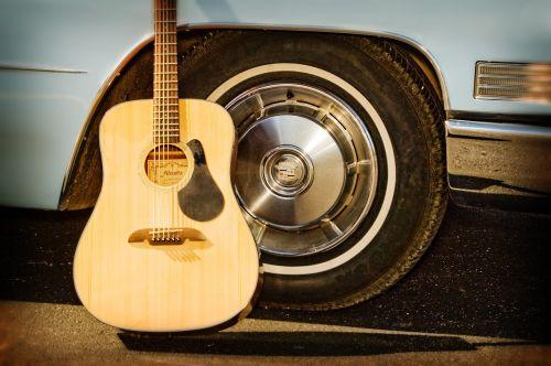guitar car tire wheels