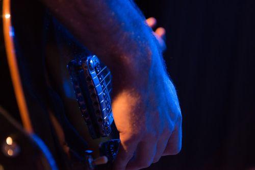 guitar closeup rock