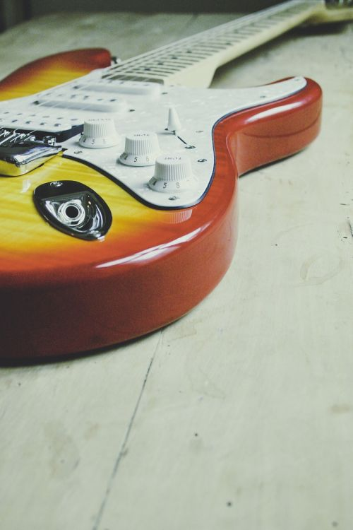 guitar music play