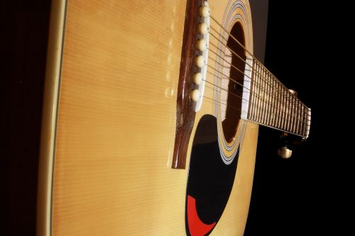 guitar acoustic guitar stringed instrument