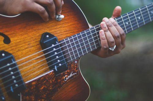 guitar musician music