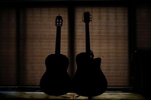 guitar amazing gesture background