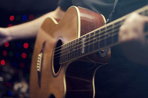 guitar guitarist instrument