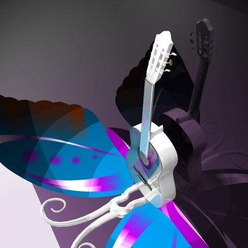 guitar butterfly music