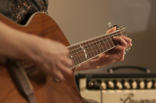 guitar music strings
