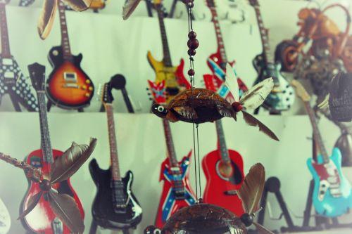 guitar souvenirs toys