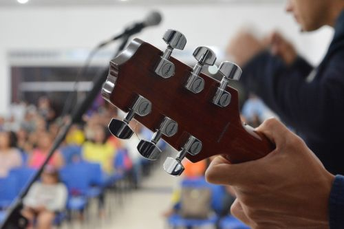 guitar hands music