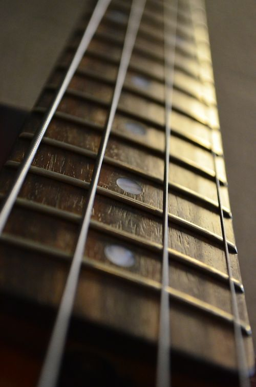 guitar guitar neck musical instrument