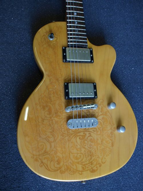 gitara,Luna sol henna,les paul-model