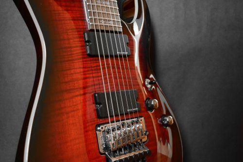 guitar eight strings seven-string