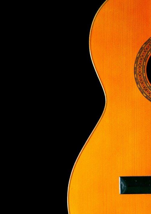 guitar  wood  instrument