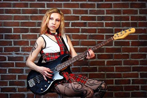 guitar  bass guitar  musician