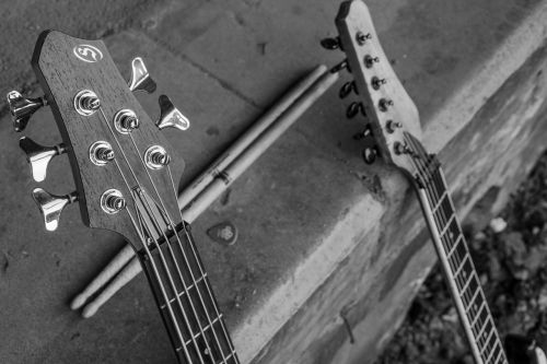 guitar stringed instrument music